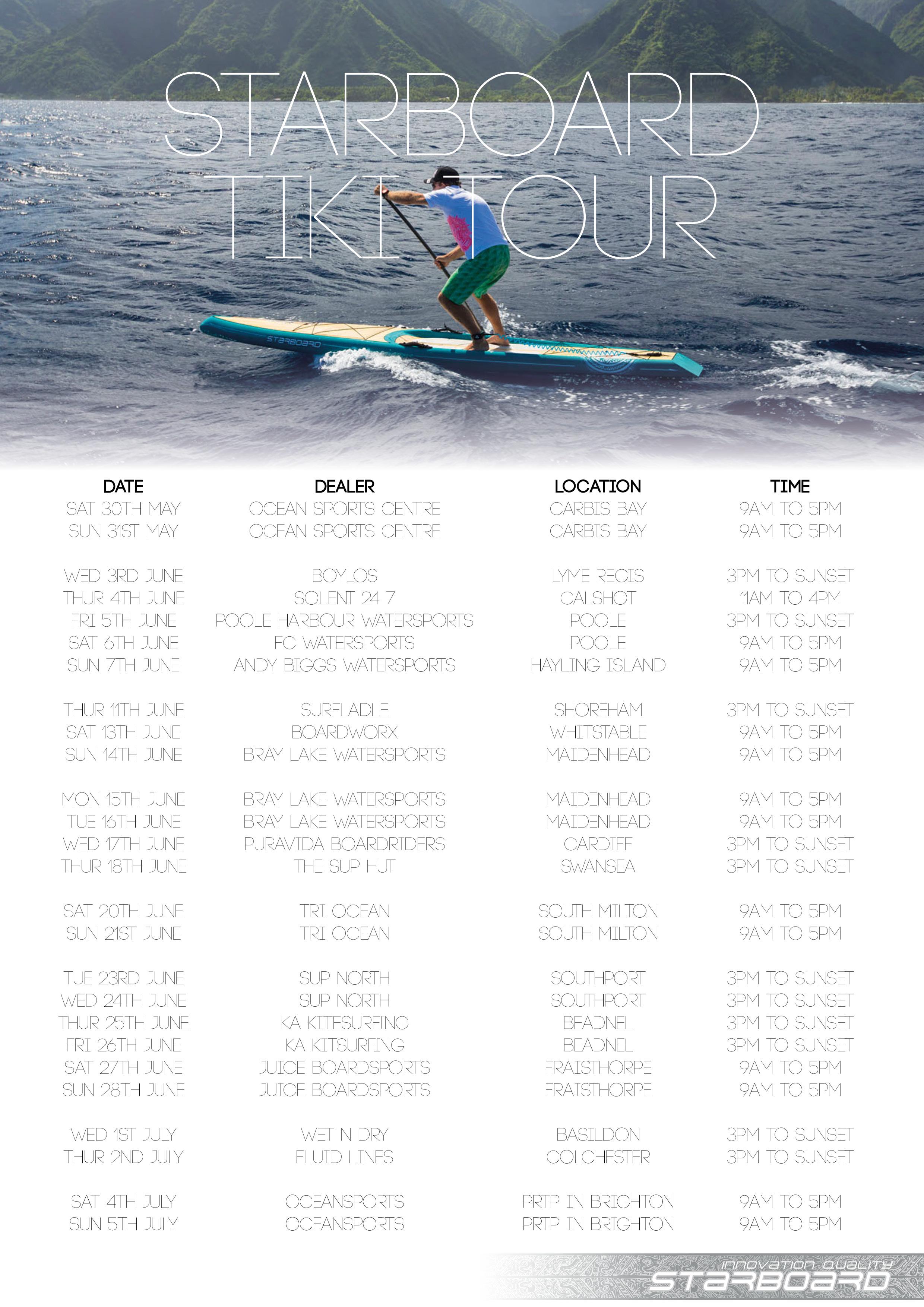 Tiki Tour Poster2