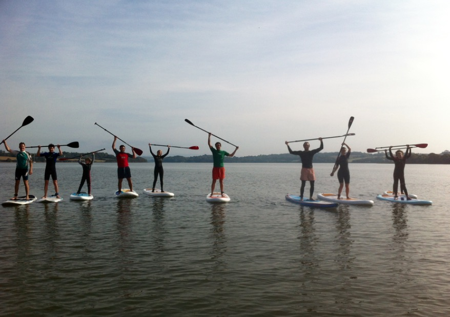 What should my SUP paddle length be