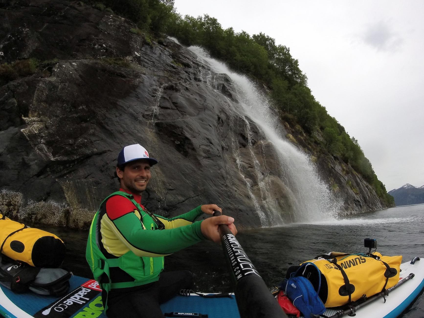 Arno Dekker - SUPing in the fjords of Norway