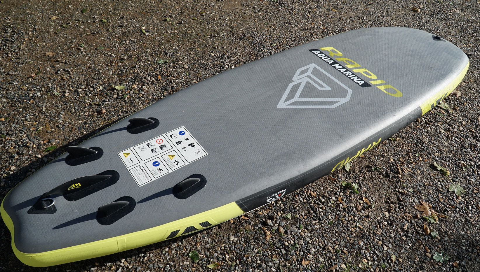 Aqua Marina Rapid 9'6'' review / River, Surf iSUP